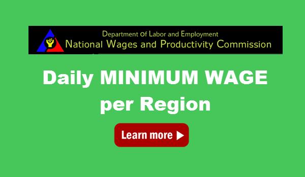 Minimum Wage in the Philippines